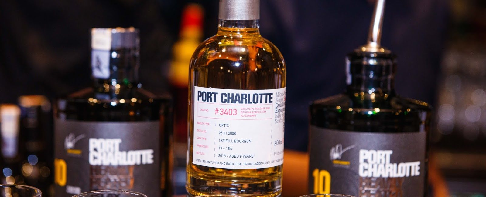 Port Charlotte MP8 Tasting @ Saro Lounge
