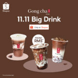 Gong Cha 11.11 Big Drink on Shopee